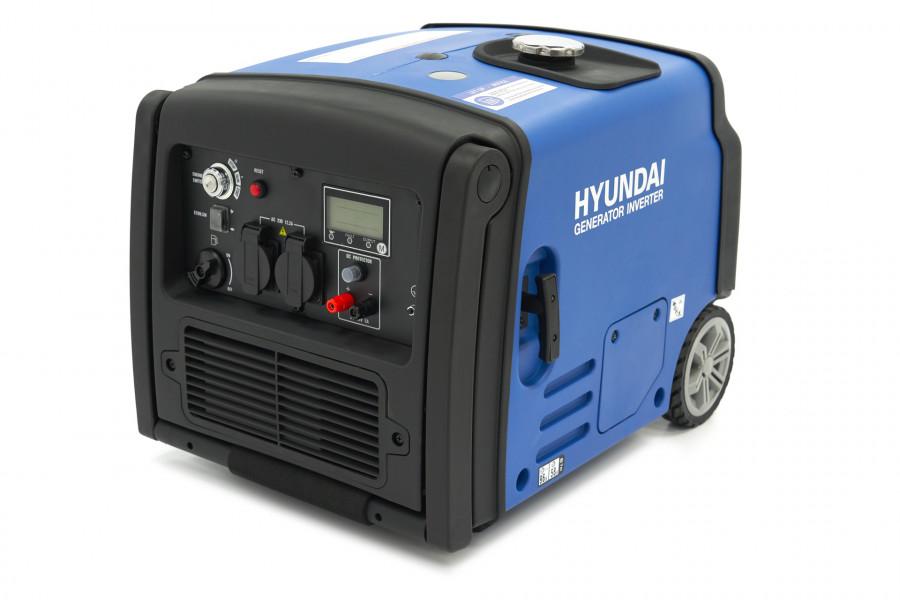 Hyundai HY3200iES Generator / Inverter 3200W met Benzinemotor en Afstandsbediening
