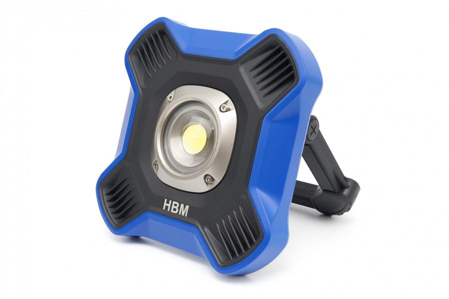 HBM Professionele COB LED Bouwlamp Met 7 Standen Dimbaar van 800 tot 5000 Lumen