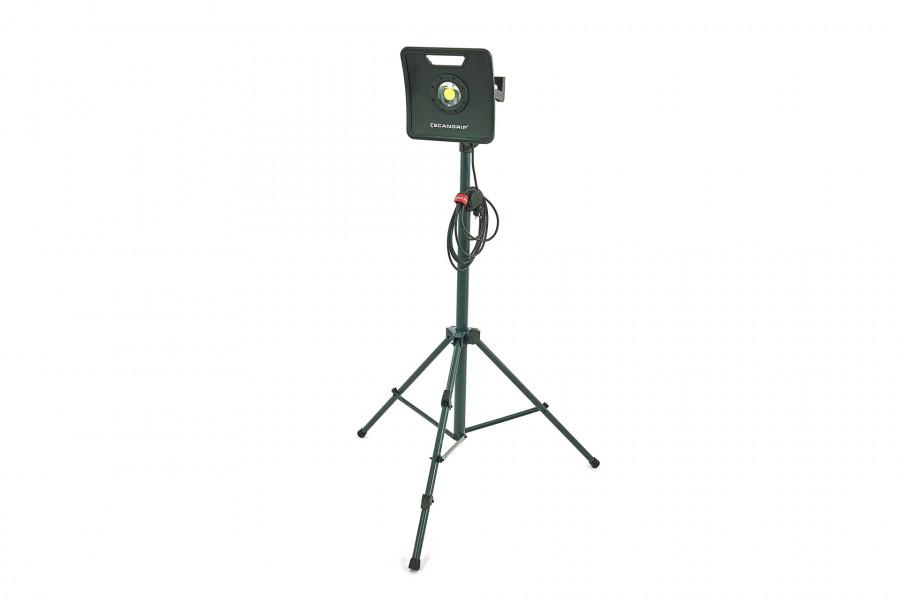 Scangrip 49.0214 Nova 3K LED Bouwlamp + statief 1-3 m - Dimbaar - 3000Lm