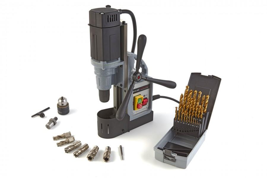 Euroboor ECO40S magneetboormachine + Accessoirespakket