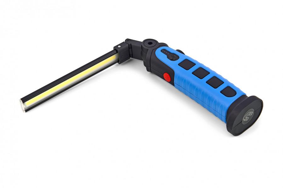HBM 450 Lumen Professionele Opvouwbare en Oplaadbare LED Lamp Met 3 Functies en Magneet