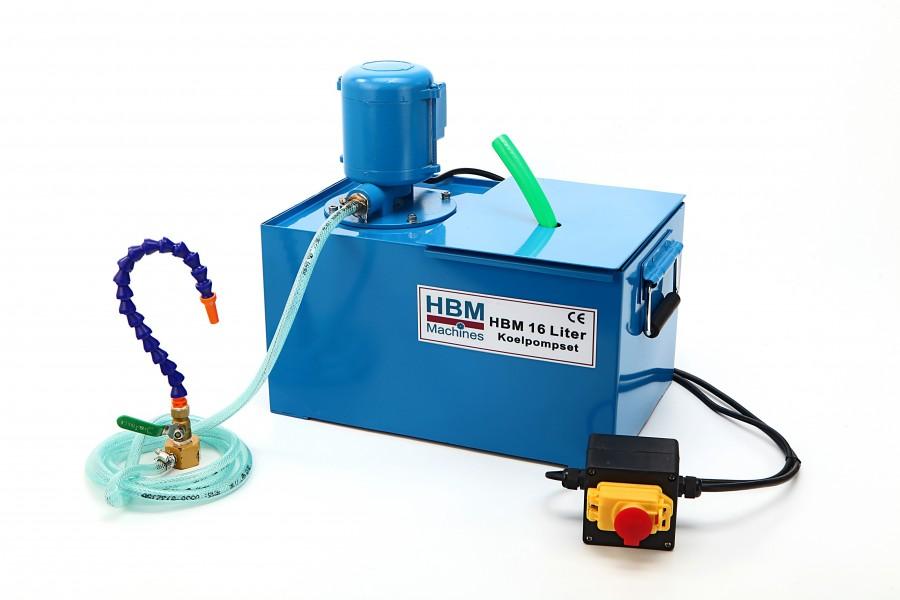 HBM 16 Liter koelpompset - 230 Volt