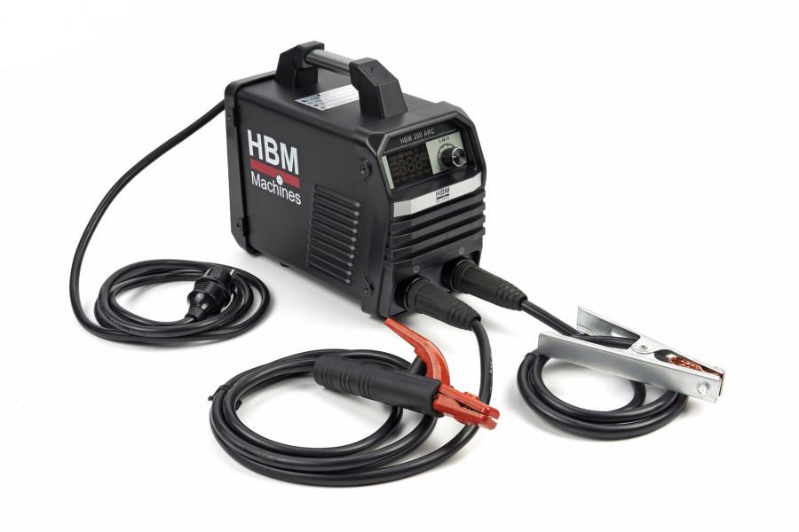 HBM 200ARC Professionele Smart Welder Inverter met Digitaal Display en IGBT Technologie