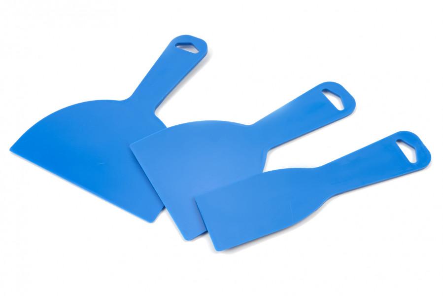 HBM 3 Delige Plastic Schraperset