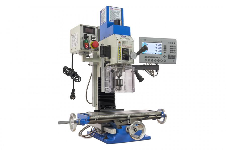 HBM BF 25 Freesmachine Met 3 Assig LCD Digitaal Uitleessysteem