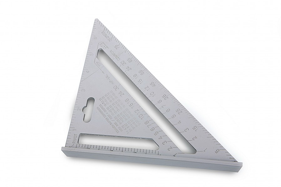 Silverline 'Heavy-Duty' Aluminium Dakbedekkers Meetdriehoek