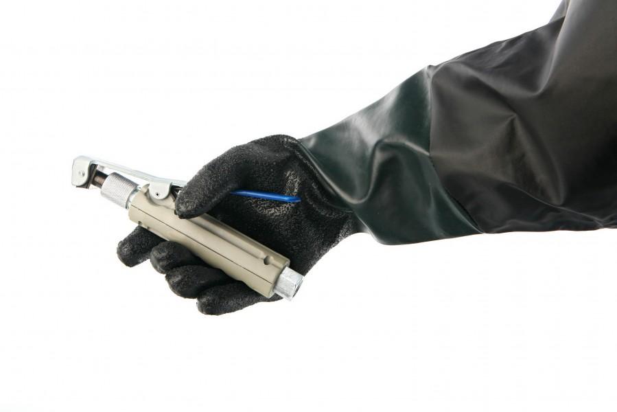 HBM Universele set handschoenen voor straalcabine