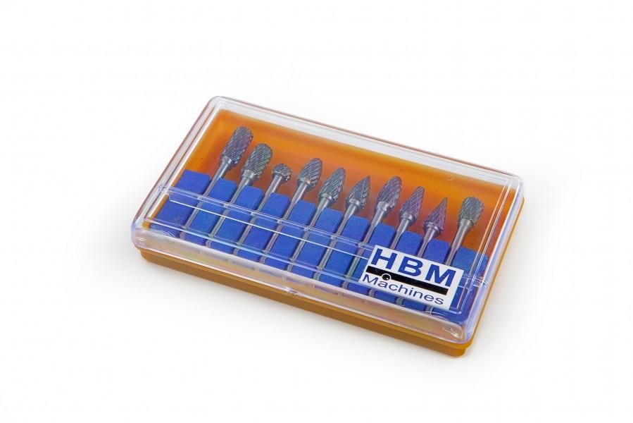 HBM 10 Delige HM frezenset Model 2