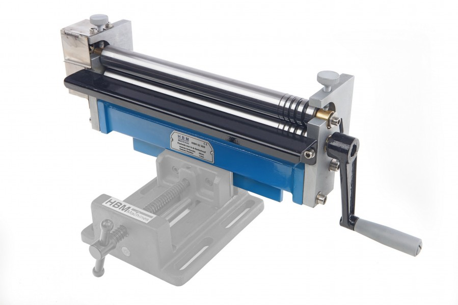 HBM 2,5 x 300 mm Plaatwals voor in de bankschroef