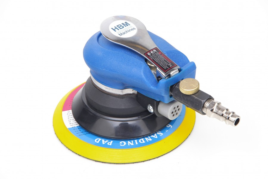 HBM 150 mm Pneumatische Excentrische Schuurmachine