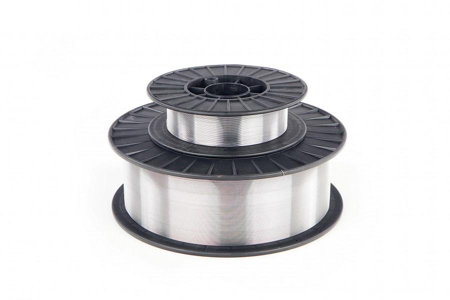 HBM 0,5 Kg 0,8 mm Aluminium Lasdraad op 100 mm Spoel