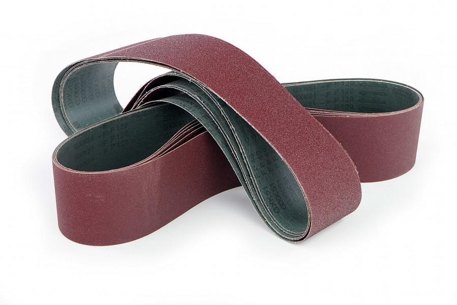 HBM 25 x 762 mm. Schuurband Rood