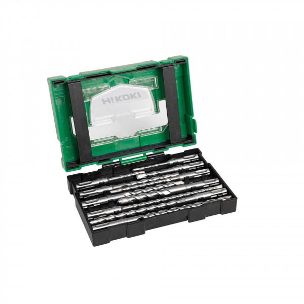 HiKOKI 10 Delige SDS-Plus Borenset - 40030030