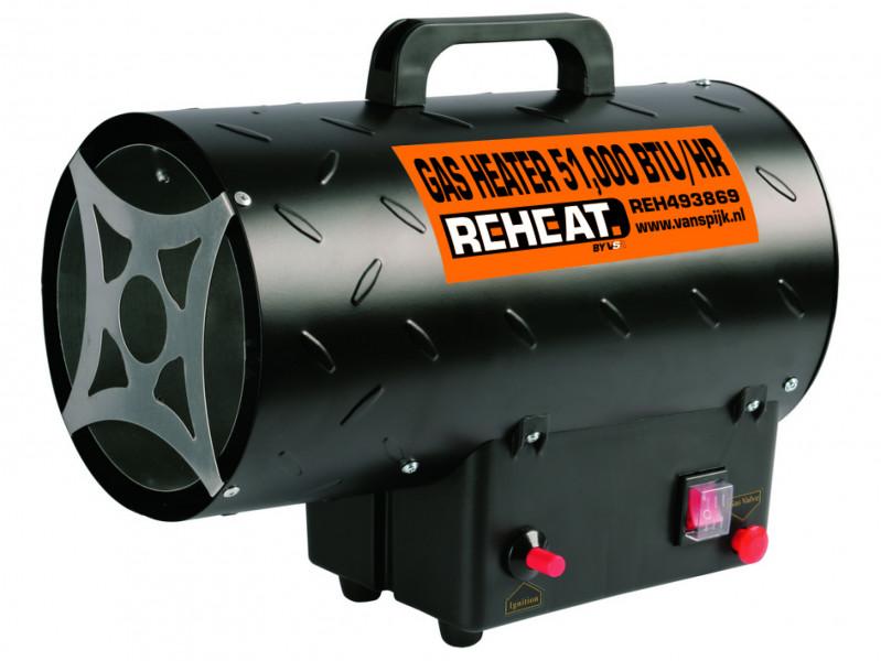 Reheat 15 Kw Gasheater 51.000 Btu