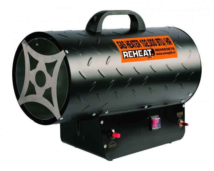 Reheat 30 Kw Gasheater 102.000 Btu