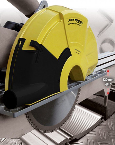 Jepson 8320 Hand Dry Cutter Metaal Cirkelzaag 120mm + liniaal 1400mm